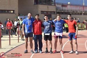 Atletes al campionat de vallès